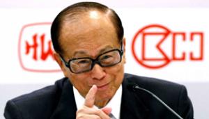 Li Kashin Cheung Kong