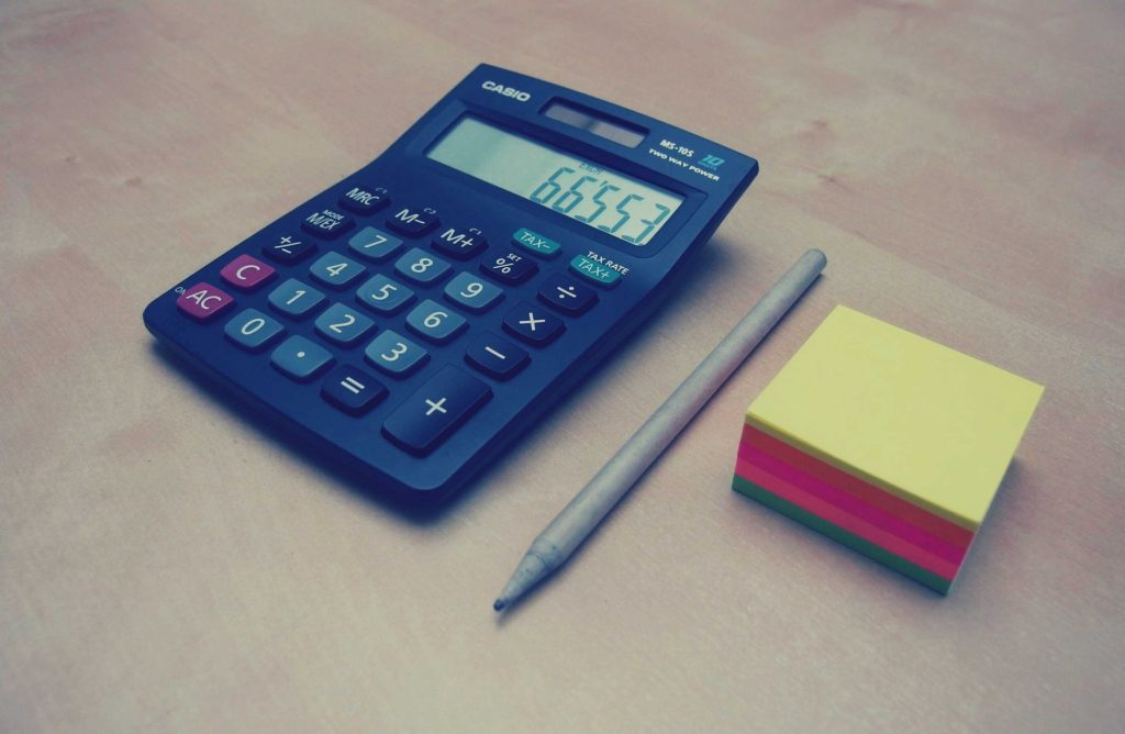 Калькулятор, ручка, бумага