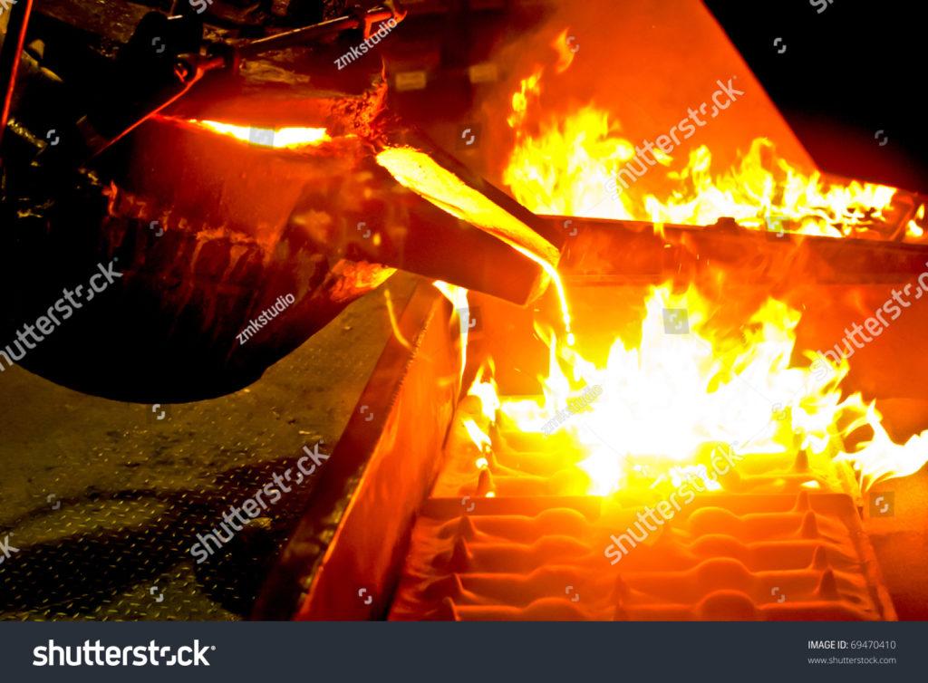 Огонь и чайник — фото с Shutterstock