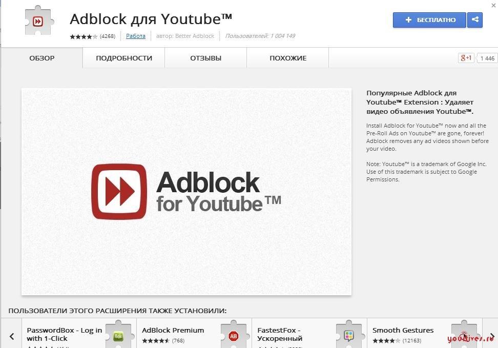 Расширение AdBlock