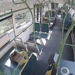 Видеокамера в троллейбусе