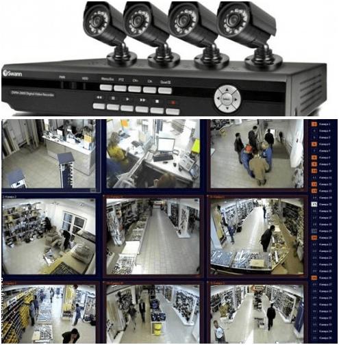 Видеосъёмка в магазине