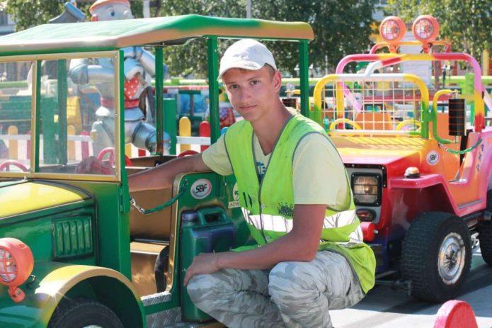 Работа в парке аттракционов