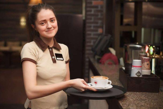 Помощники в кафе и ресторане