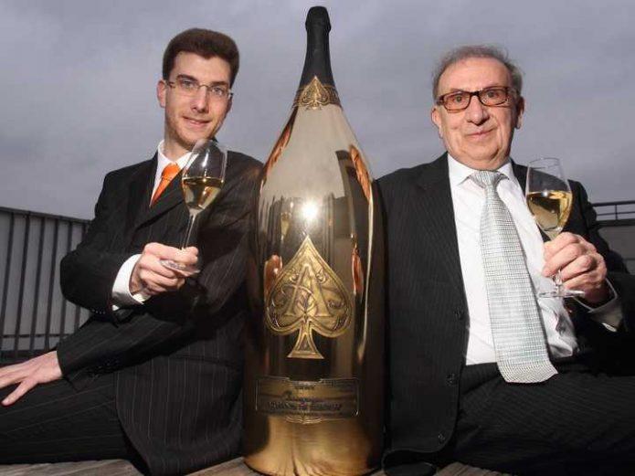Шампанское Armand de Brignac Midas