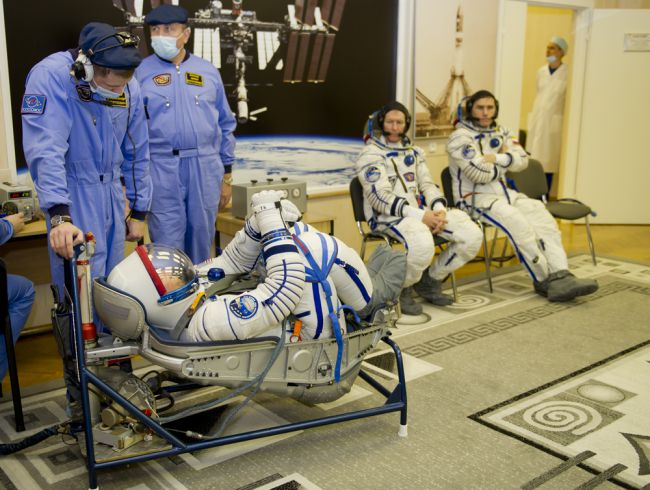 космонавты инструктаж
