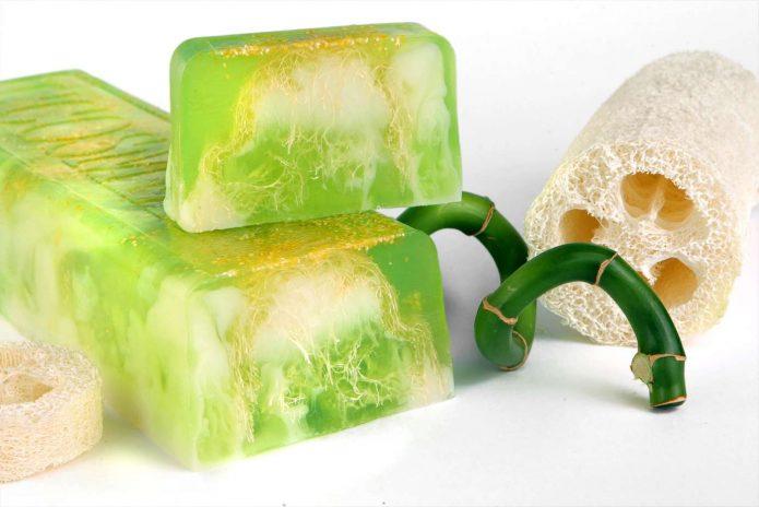 Экологичное домашнее мыло