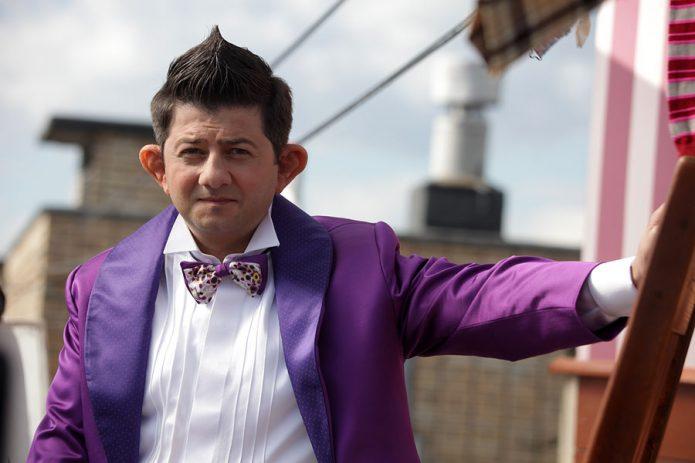 Михаил Галустян в качестве актёра