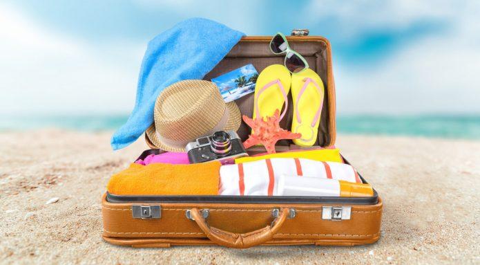 Чемодан для отпуска