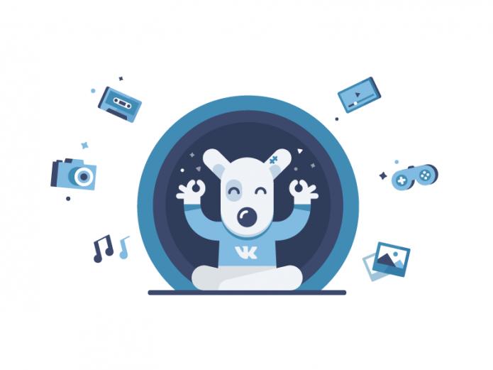 Логотип ВКонтакте — собака