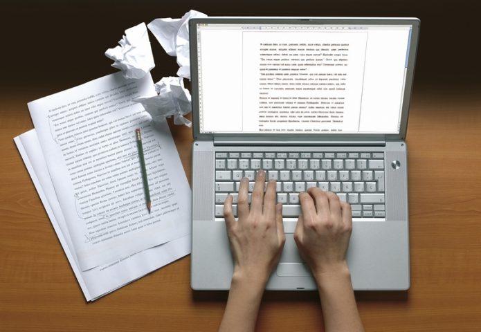 Работа над статьями