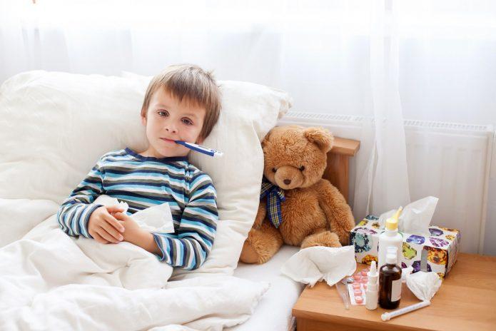 Ребёнок болеет