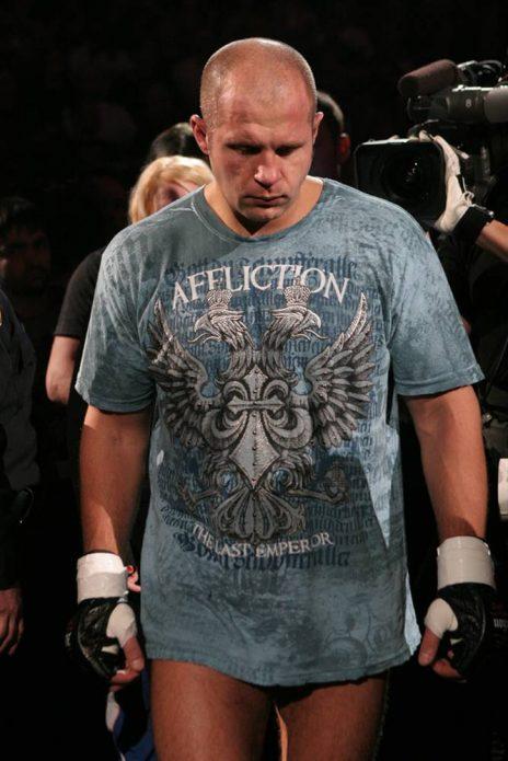 Федор Емельяненко в футболке Affliction