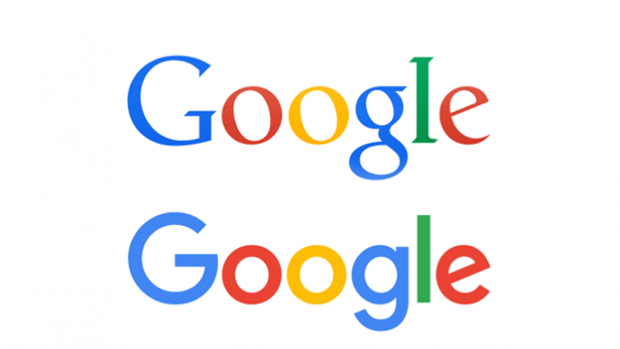 Google разными шрифтами