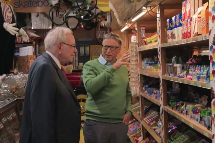 Билл Гейтс в магазине