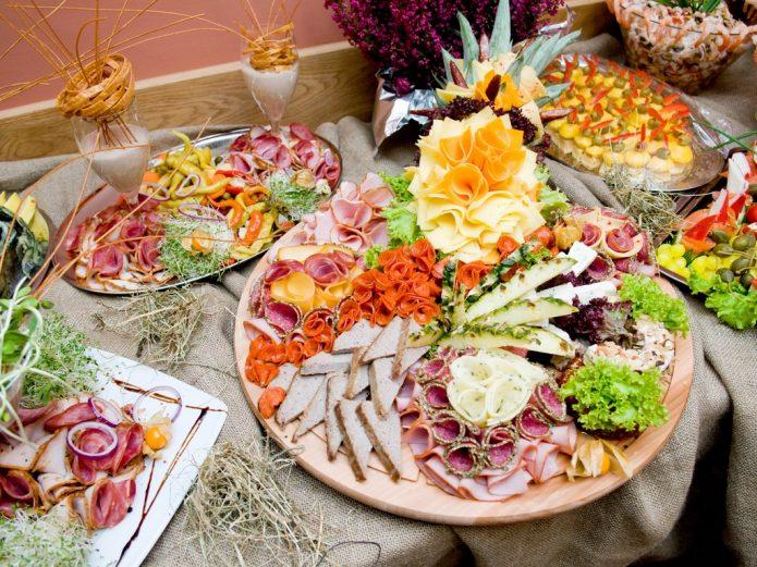 Блюда с едой