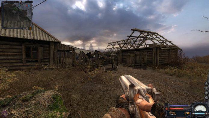 Кадр из компьютерной игры