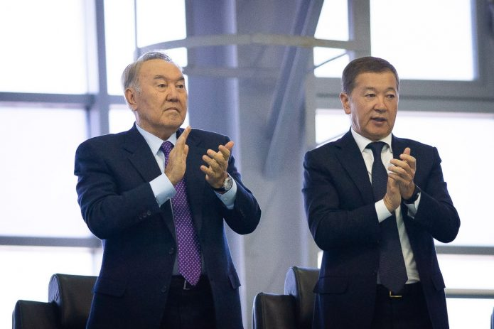 Булат Утемуратов и Нурсултан Назарбаев