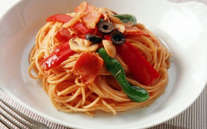 Блюдо из меню обеда Абрамовича