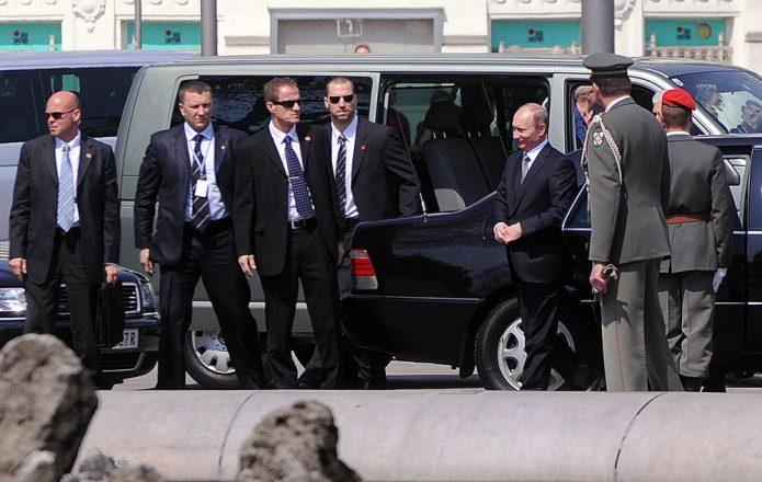 Телохранители Путина