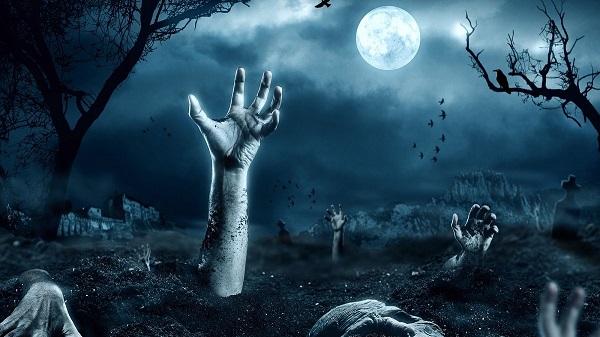 Руки торчат из земли
