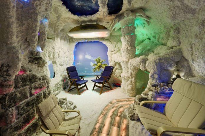Соляная мини-пещера