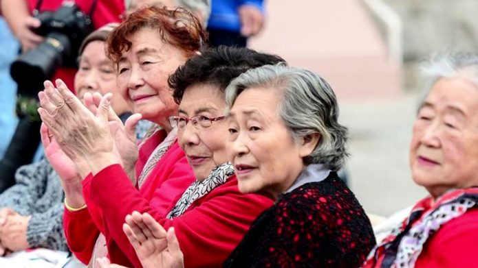 Пенсионеры КНР