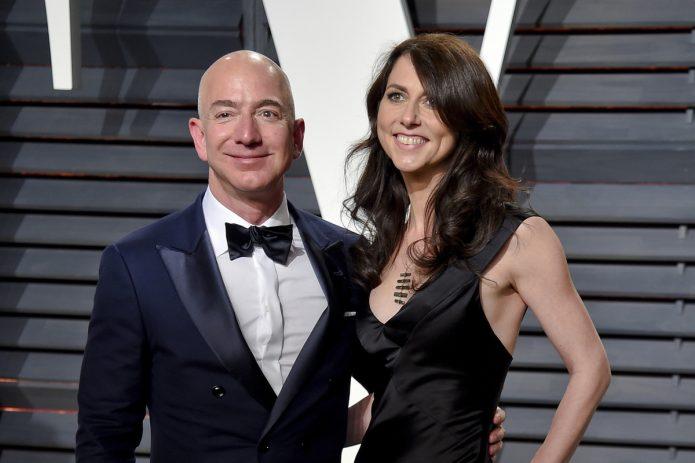 Джефф Безос с женой