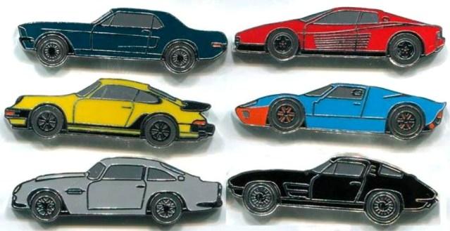Монеты в виде автомобилей