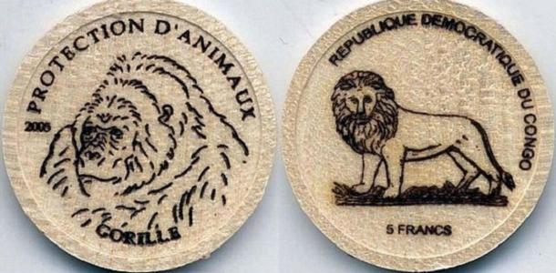 Деревянные монеты