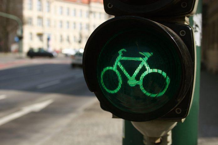 Зелёный свет для велосипедистов