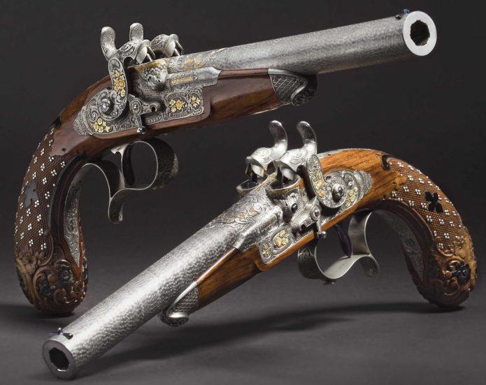 Старинные пистолеты