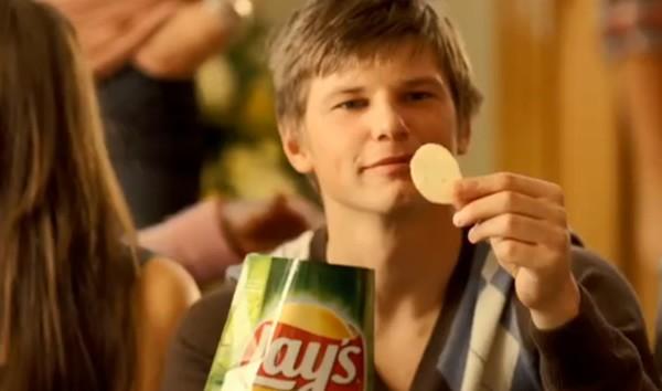 Андрей Аршавин в рекламе чипсов