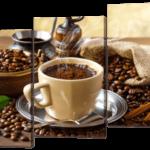Кофе и палочки корицы