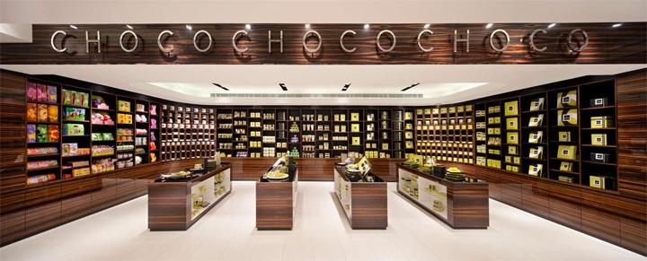 Элитный магазин шоколада