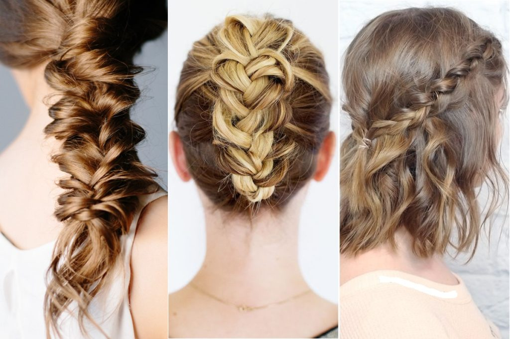 Разные варианты кос