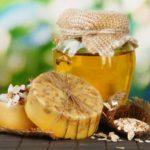 Мыло ручной работы с мёдом
