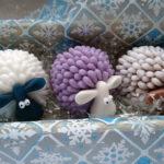 Мыло ручной работы новогодней тематики
