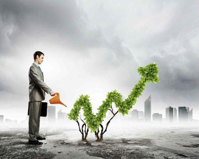 График «живого роста»