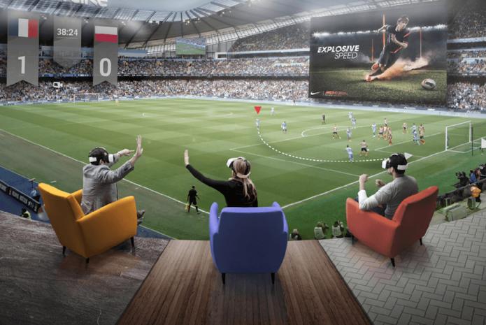 Платформа виртуальной реальности