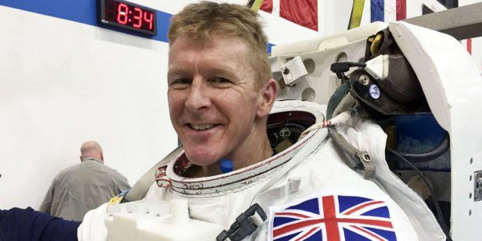 британский космонавт