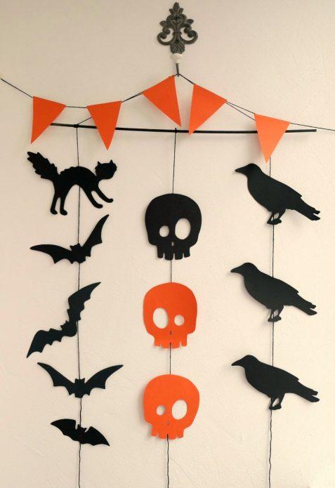 Простой декор своими руками на Хэллоуин