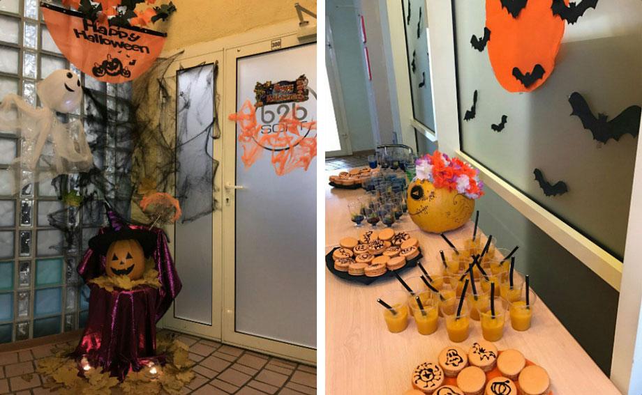 Декор для офиса на Хэллоуин