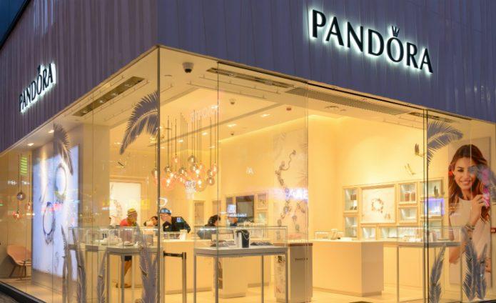 Ювелирный салон «Пандора»