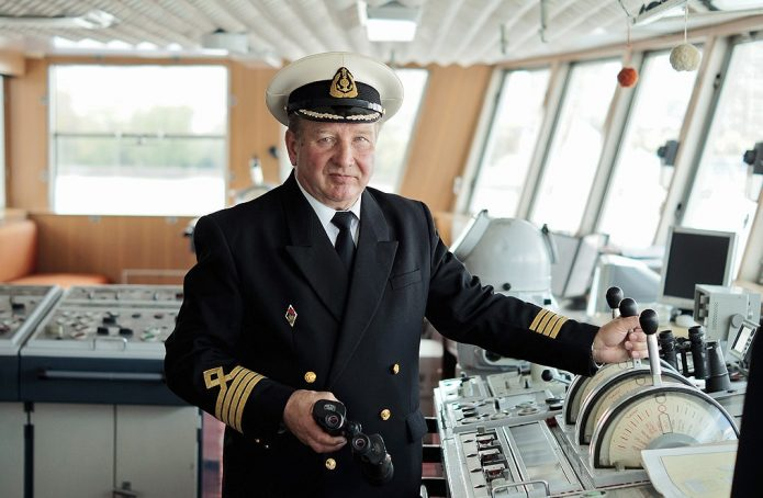 Капитан морского судна