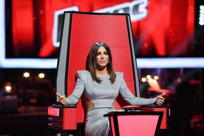 Ани Лорак на шоу «Голос»