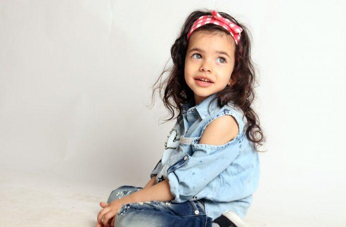 Девочка-модель