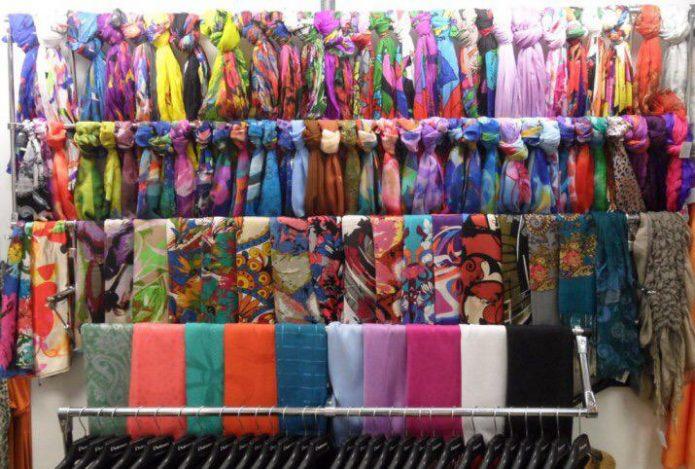 продажа шарфов