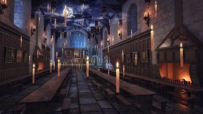 Кадр из игры про Гарри Поттера