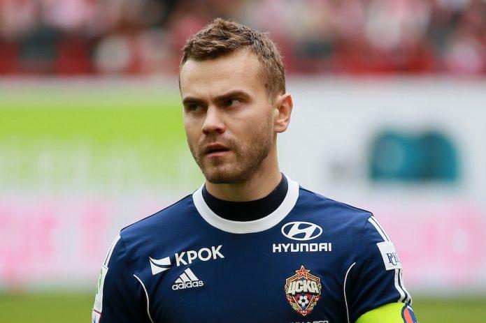 Футболист Игорь Акинфеев